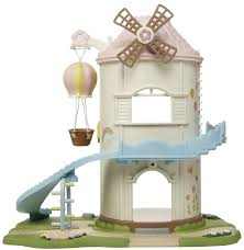 calico critters baby playhouse windmill free shipping tiny
