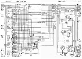 ford v8 thunderbird 1963 complete wiring diagram all about