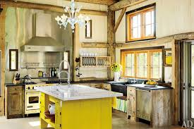 French Kitchen Sinks by Kitchen Design French Rustic Kitchen Design With Hanging Pot