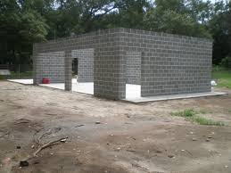concrete block houses cinder block garage plans homebeatiful house layout charleston