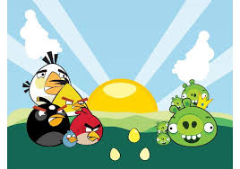 angry birds characters vector download free vector art stock