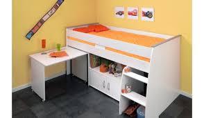 bureau et rangement lit enfant combiné bureau et rangement intégré novomeuble