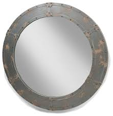nautic mirror large industrial bathroom mirrors by modtempo llc