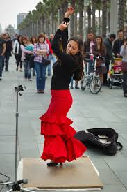 barcelona photoblog flamenco fusion dancer la barceloneta barcelona