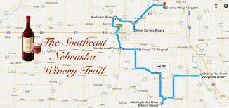 Oregon Winery Map by Nebraska U0027s Wine Trail Is A Magical Tour Of Nebraska Wine Country