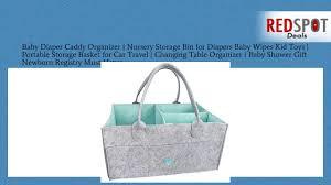 cheap baby diaper caddy organizer nursery storage bin for