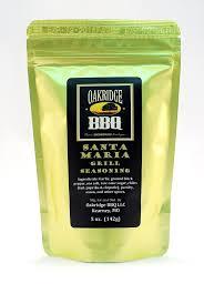 Backyard Seasoning Santa Maria Grill Seasoning 142g Oakridge Bbq Varumärken
