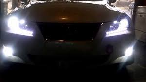 isf lexus jdm lexus is250 white led hid conversion jdm led tail u0026 valance