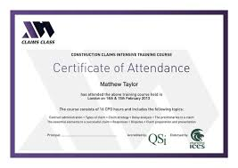 cpd certificate template certificate of attendance template free