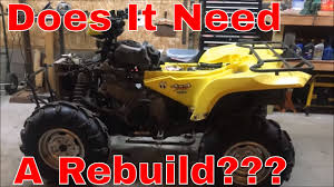 05 king quad 700 motor problems does it need a rebuild youtube