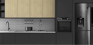 kitchen design white cabinets black appliances modern kitchens with black appliances 12 ideas vapormax