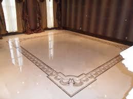in livingroom marble border in livingroom