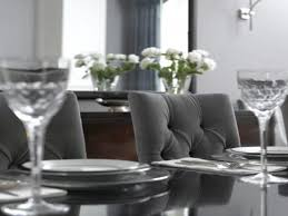 grey dining room table and chairs provisions dining