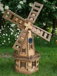 garden windmill plans wood work garden windmill