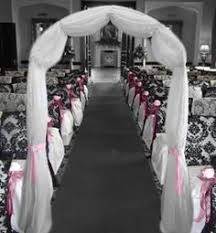 wedding arches using tulle idea to decorate the arch ideas arch indoor