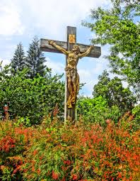 albin polasek sculpture gardens the victorious christ bronze
