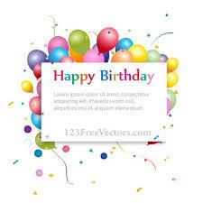 palloncini clipart buon compleanno sfondo con banner e palloncini colorati file