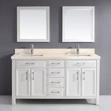 Bathroom Vanities 59 Inches 59 Inch Contemporary Vanity Wayfair