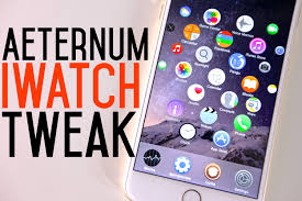 iwatch theme for iphone 6 new apple watch working interface aeternum ios 8 tweak youtube
