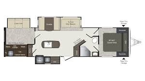 Bullet Travel Trailer Floor Plans by 2017 Keystone Laredo 331bh Model