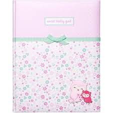 baby girl memory book child of mine by s newborn baby girl memory book walmart