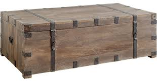 Coffee Table Chest Waterfront Coffee Table Industrial Coffee Tables By Mercana
