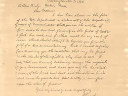 was this famous lincoln letter written by his secretary smart