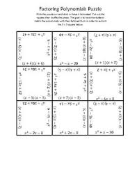 60 best factoring and quadratics images on pinterest math
