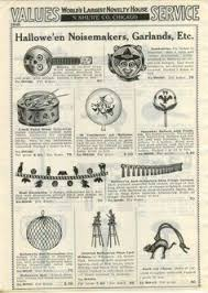 New Year Decorations Ebay by 1931 Advertisement 6 Pg Halloween Hats Horns Costumes Noisemakers