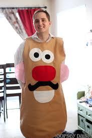 Potato Head Halloween Costumes Diy Potato Head Costume Allfreesewing