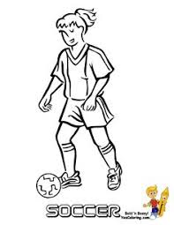 women u0027s soccer coloring pages woman