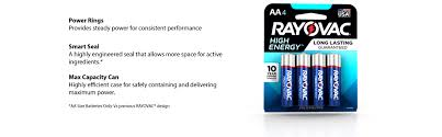 amazon com rayovac aa 60 pack high energy alkaline batteries 815