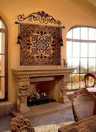 Cantera Stone Fireplaces by Mexican Style Fireplace Mantels Fireplacmantel