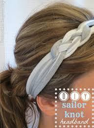 headband hair extensions diy sailor s knot headbands hair extensions news