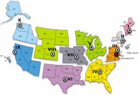 fema region map fema regional offices