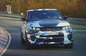 land rover svr land rover u0027s high performance range rover sport is the svr video