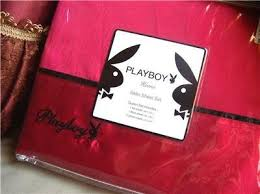 Playboy Bunny Bedroom Set by Amazon Com Playboy Signature Red Satin Sheet Set King Home U0026 Kitchen