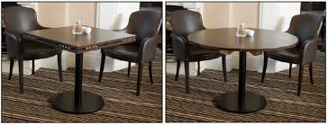 Round Restaurant Tables Restaurant Seating Flexibility Using Square Restaurant Tables