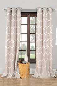 Duck River Window Curtains Duck River Quey Wrinkle Wave Grommet Panel Curtains Set Of 2