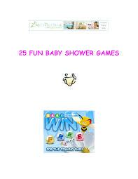 photo 25 fun baby shower image