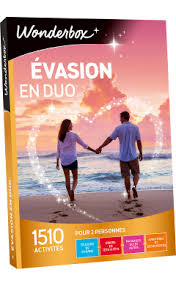 Coffret Cadeau évasion En Amoureux Coffret Cadeau Evasion En Duo Box Multi Thèmes Wonderbox