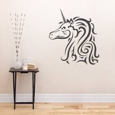 wall decoration unicorn wall art lovely home decoration and