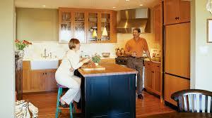 kitchen island remodel great kitchen design ideas sunset