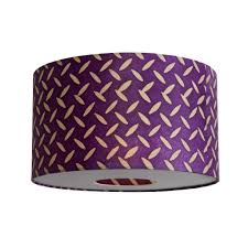 purple lamp shade modern home decorations insight