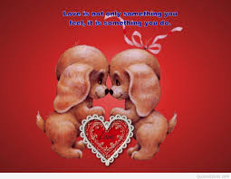 love valentine quote