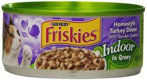 amazon com purina friskies indoor homestyle turkey dinner with