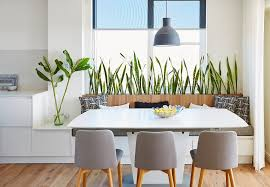 awesome modern indoor planters decorating ideas with kitchen open