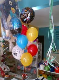 san jose balloon delivery centro de mesa en vejigas y globos metalico con helio motivo