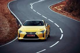 lexus lc f sport first drive 2018 lexus lc 500 and 500h automobile magazine
