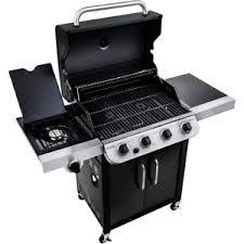 char broil performance 475 4 burner cabinet gas grill new char broil 4 burner all black bbq lp gas grill with side burner